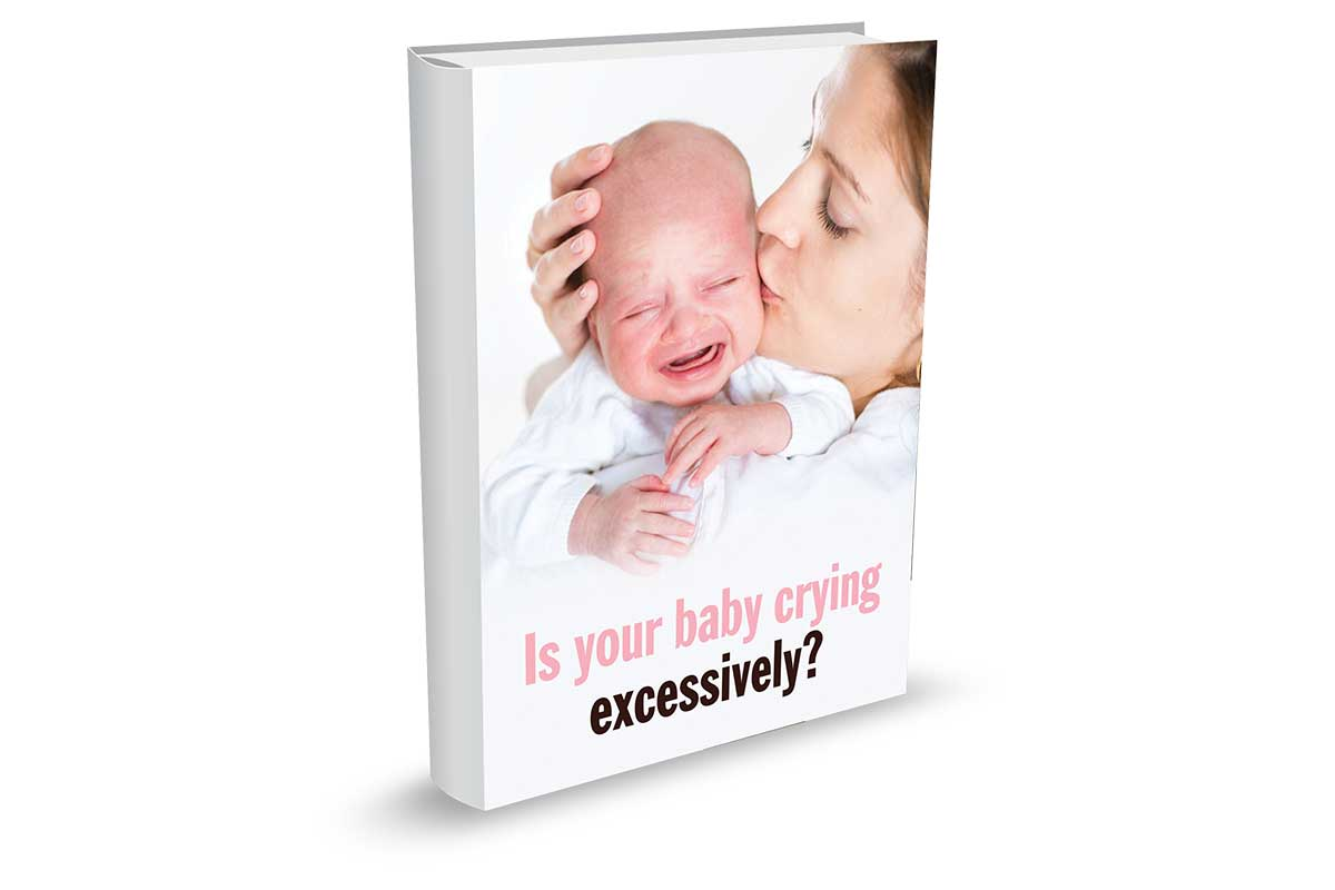 Is Your Baby Crying Excesively Book Cover