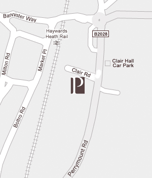 Map - Perrymount Clinic